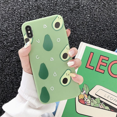 Avocado  Soft TPU Phone Case