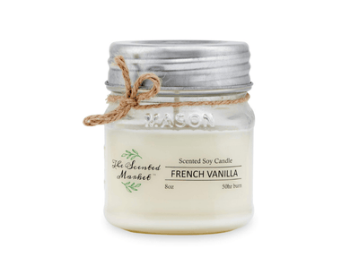 FRENCH VANILLA Soy Wax Candle - she. boutique