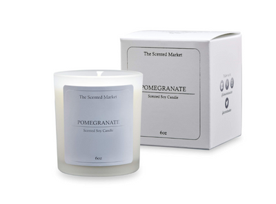 POMEGRANATE Soy Wax Candle - she. boutique