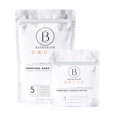 CRUSH Bath Soak - Charcoal Garden Detox - she. boutique