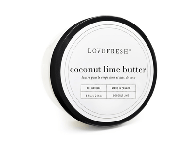 coconut lime body butter she. boutique