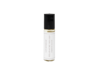 headache essential oil roller ball bottle - she. boutique lovefresh