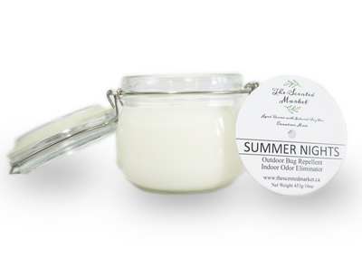 Soy Wax Candle - SUMMER NIGHTS - she. boutique the scented market