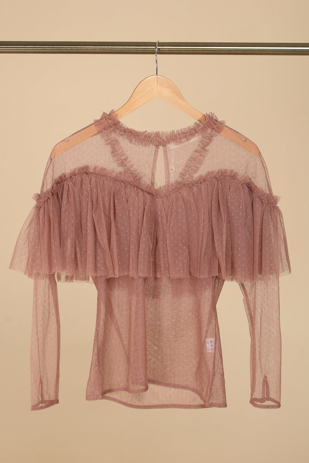Dusty Rose Mother M. Tyl Bluse