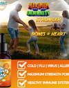 Vitamin D3+K2 Drops 2000 IU | Excellent for Healthy Heart, Mood, Immune System, Stronger Bones, Muscles, Joints | Maximum Calcium Absorption | Non-GMO, Gluten-Free |100% Nature Made|Vegan Based| (1oz)