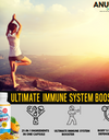 Immune Booster 90 Capsules • 21-IN-1 Immune Supporting Ingredients | May help body fight Illness| Ingredients for overall well being | Heart | Energy | Joints | Muscles | Essential Daily Vitamin D