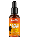 Edge AGF+IGF1 | The Ultimate Natural Healthy Growth Factors | Superior Body, Muscle Recovery & Healing | Lean Muscle Mass | Testosterone | Fitness Performance Booster | 100% All Natural | Vegan & Keto Friendly