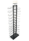 Double-Sided 12 Tier Hat Display - Display Fixture Warehouse Retail