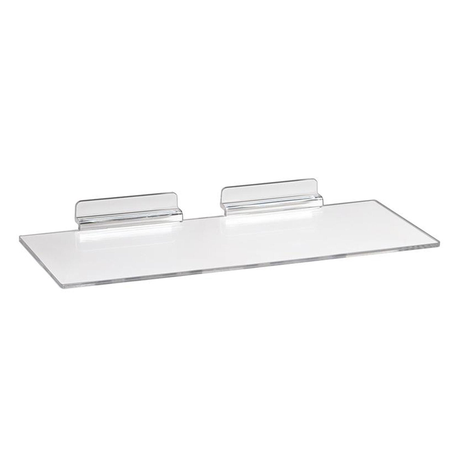 "10"" L X 4"" D Shoe Shelf, Injected Molded - Display Fixture Warehouse Retail"