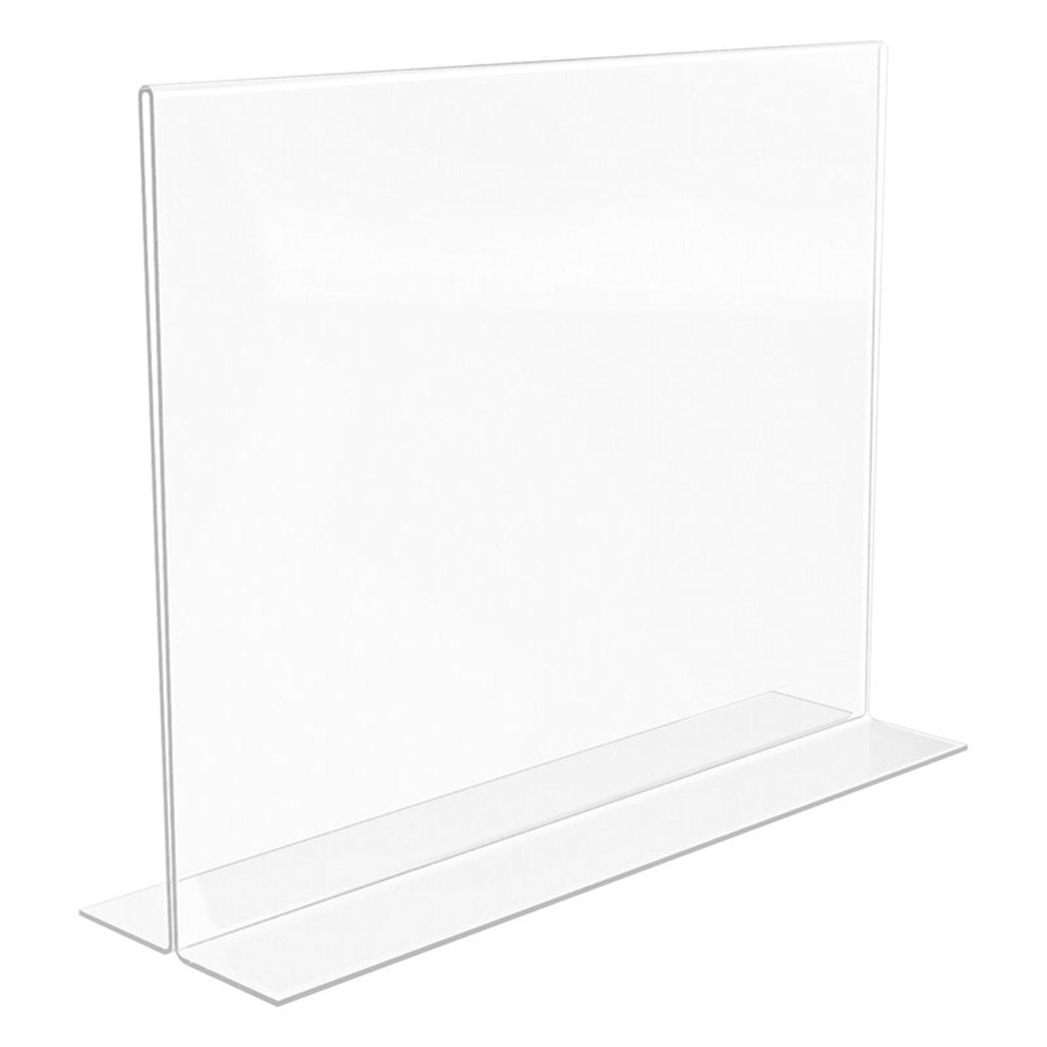 "11""H x 8-1/2""W VERTICAL CARDHOLDER PLEXI BOTTOM LOAD - Display Fixture Warehouse Retail"