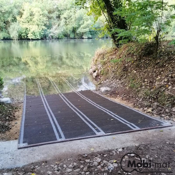 10 Ft Wide Roll-Up Boatramp