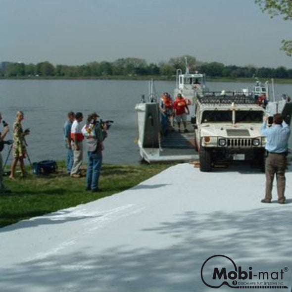 14 Ft Wide Roll-Up Boatramp