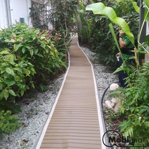 3.25 Ft Wide Wood-Like Roll-Up Walkway