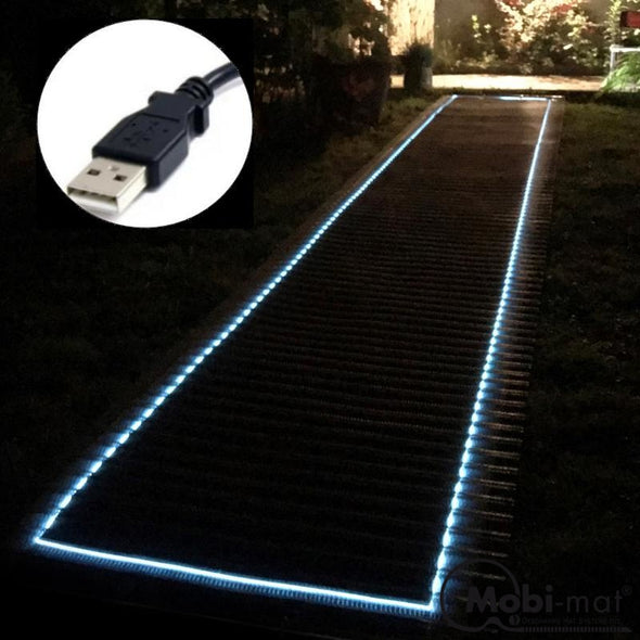 Enlighted Wood-Like Roll-Up Walkway Type Lcn: 3.25 Ft Wide