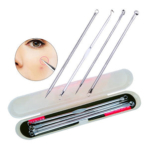 Blackhead and Pimple Extraction Toolkit (4 Pieces)