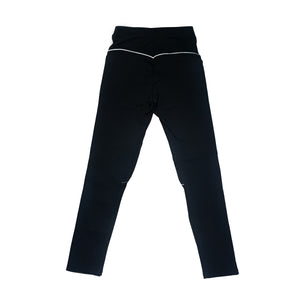 Retro Black Yoga Pants