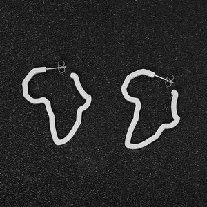 Map of Africa Mini Earrings