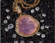 Load image into Gallery viewer, Pink Buddha Necklace