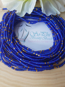 Royal Blue + Gold 39""