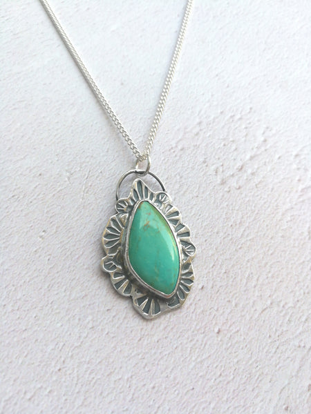 Turquoise Wavey Necklace