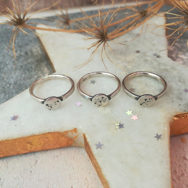 Personalised Zodiac Constellation Ring
