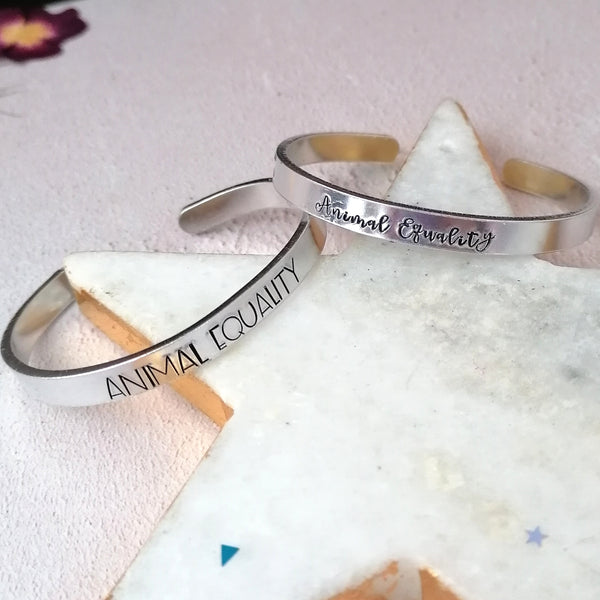 Animal Equality UK Charity Bracelet