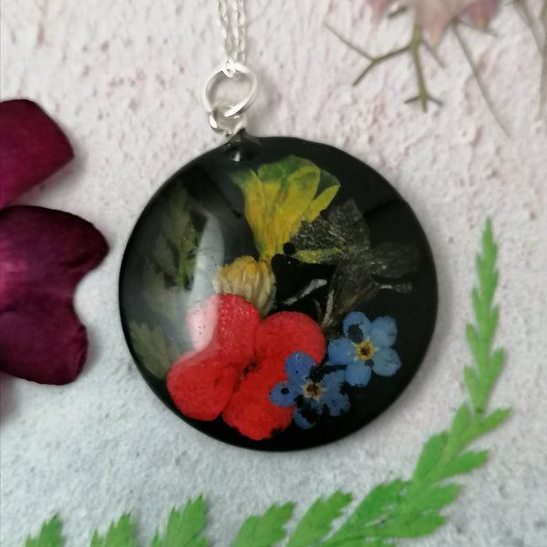 Mixed Flower Necklace