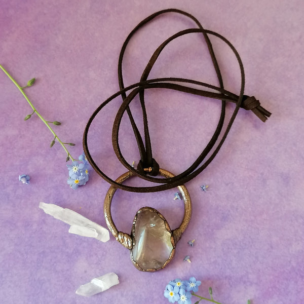 Smokey Quartz Necklace 1