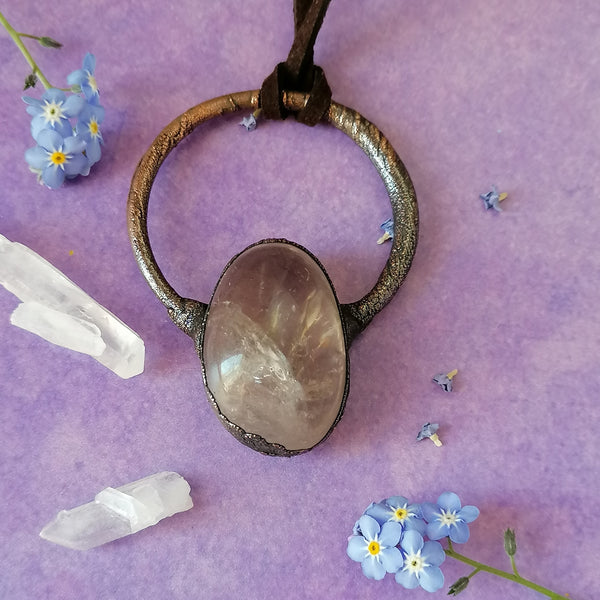 Smokey Quartz Necklace 2