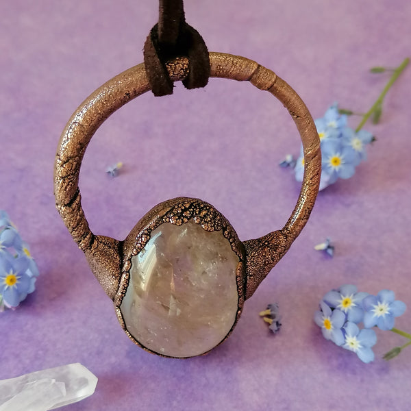 Smokey Quartz Necklace 3