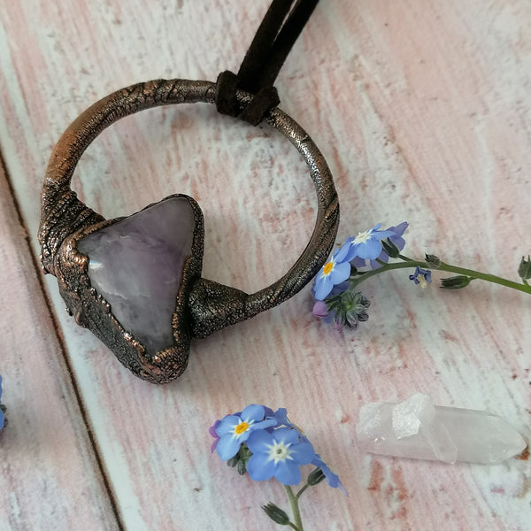 Amethyst Necklace 3