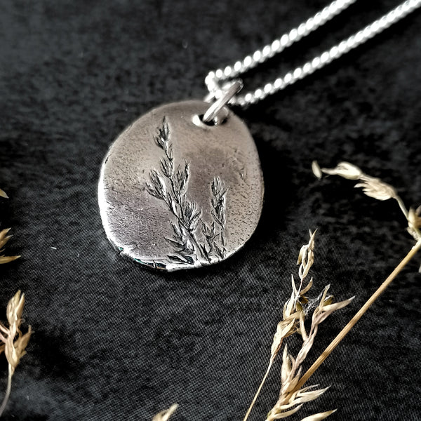 Rustic Grasses Necklace