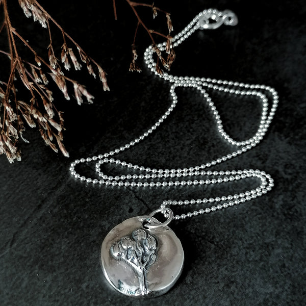 Seed Head Necklace