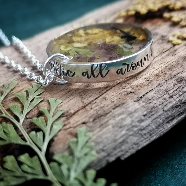 There Is Magic All Around Us Necklace