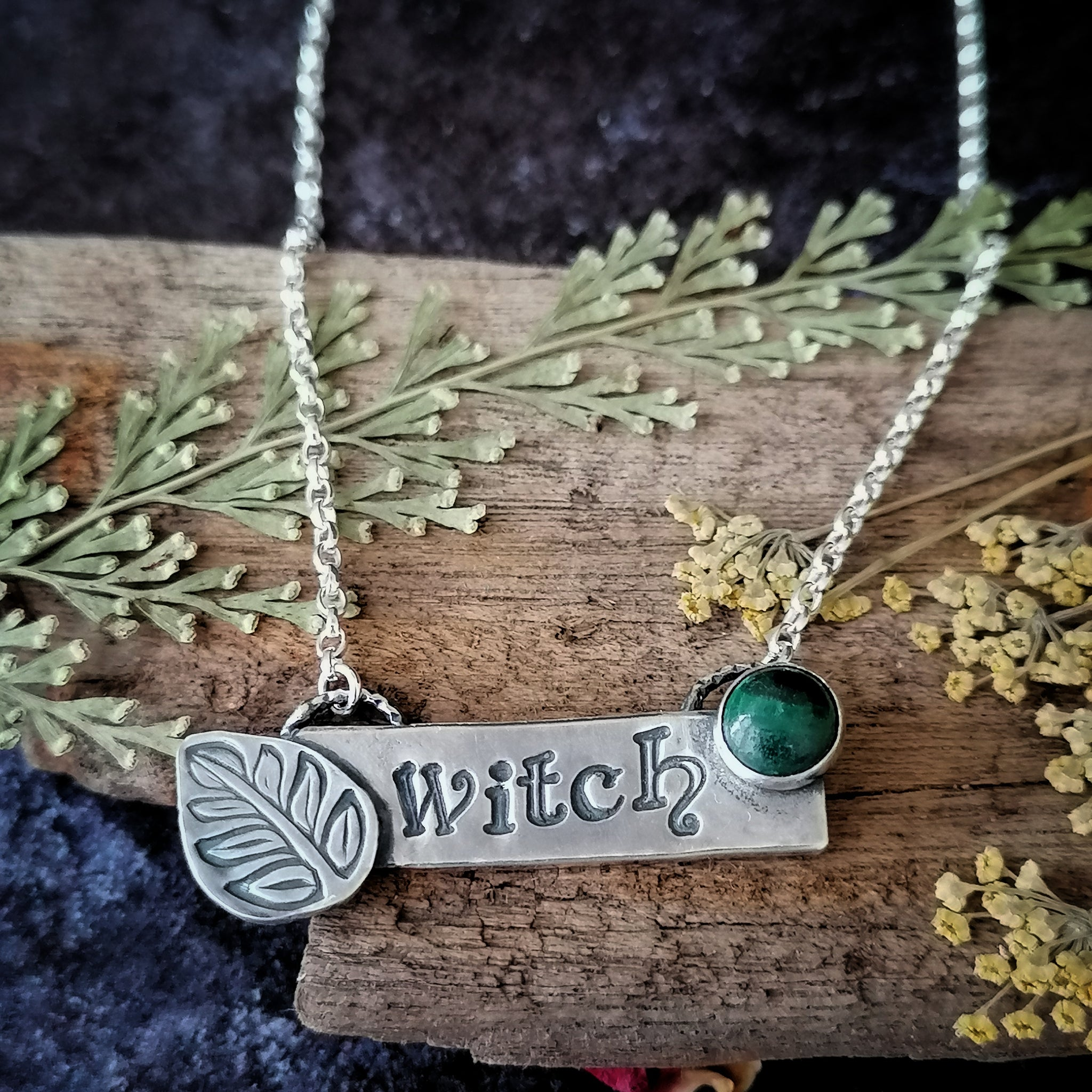 Green Witch Necklace