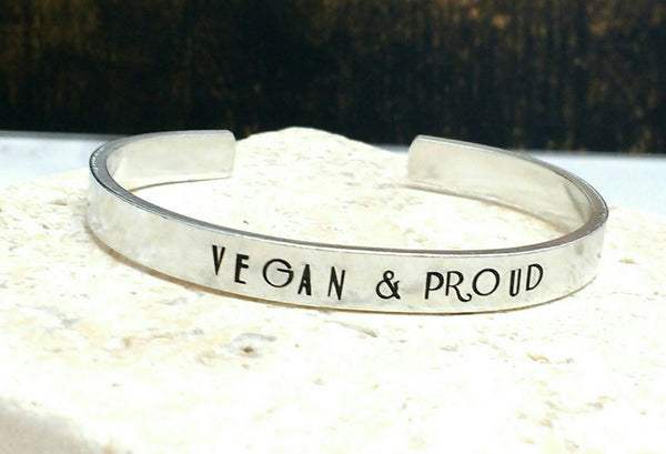 Vegan and Proud Bracelet
