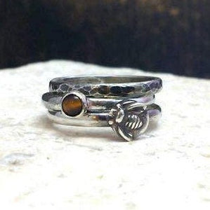 Bee Stacking Ring