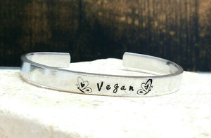 Pretty Vegan Butterfly Bracelet