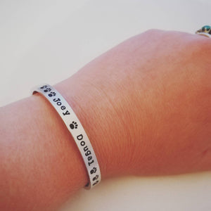 Personalised Pet Name Bracelet