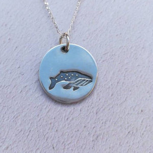 Whale Sterling Silver Necklace
