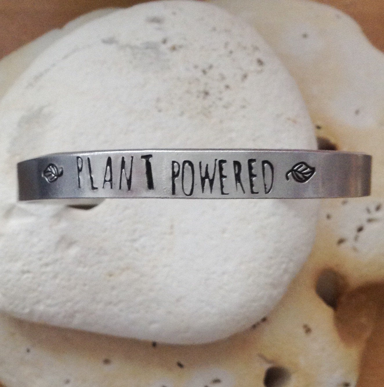 Plant Powered Vegan Bracelet