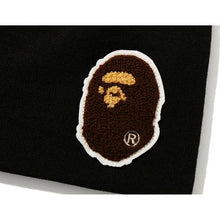 Load image into Gallery viewer, bape big apehead knit cap (blk)