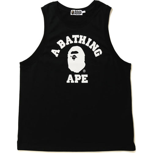bape college tank top (blk)