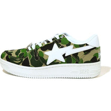 Load image into Gallery viewer, bape bapesta abc camo low m2 shoes (green)