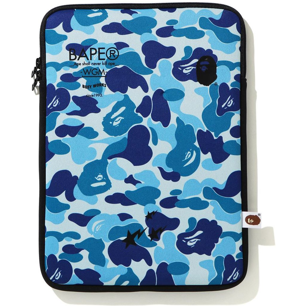 bape abc camo pc case (blue/black)