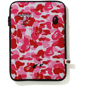 bape abc camo pc case (pink/black)