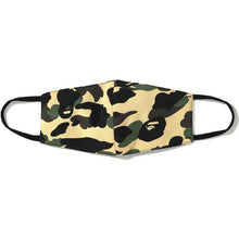 Load image into Gallery viewer, bape 1st camo mask ss20 (yellow)