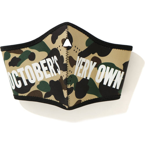 bape x OVO 1st camo mask (yellow)