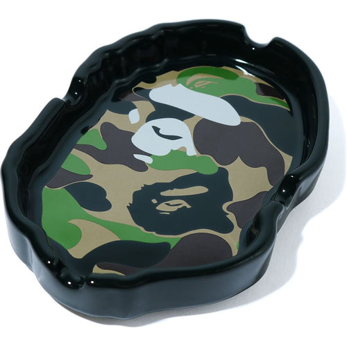 bape apehead ashtray (camo)