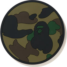 Load image into Gallery viewer, bape 1st camo reversible rubber coaster (green)